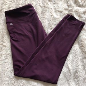 Fabletics Salar Legging Sz L - Dark plum